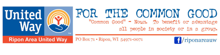 Ripon Area United Way Ripon Wisconsin